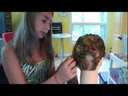 different types of mohawk braids hairstyles scouting for breast cancer ribbon braid youtube