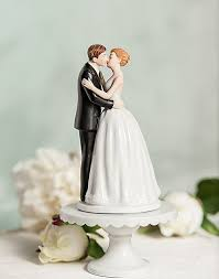 cake topers cup cake wedding cake topper figurine