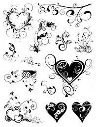 swirl tattoos designs