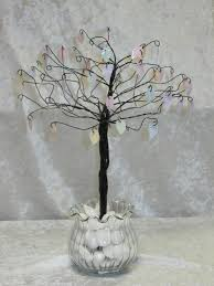 Tree Centerpieces Wire Tree Centerpieces Kathy And Michelle U0027s Creations