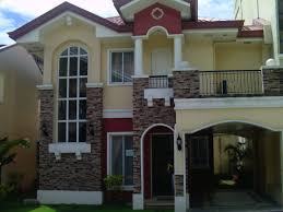 Two Story House Designs House Plans And Design House Design Two Story Philippines