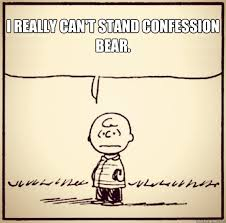 Charlie Brown Memes - i really can t stand confession bear awkward charlie brown