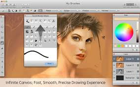 mybrushes paint draw sketch on the mac app store