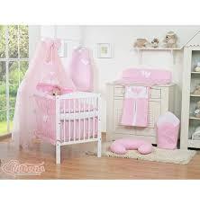 chambre bébé pas chère parure lit bébé pas cher complète fille coeur 12 pièces