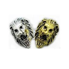 cheap unique engagement rings noble lion shaped antique silver plated unique engagement rings