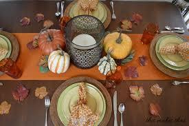 thanksgiving table setting ideas this makes that idolza