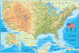 United States Map Compass by Maps Usa Map Atlas