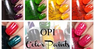 be coqueta color paints opi collections