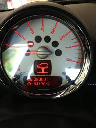 mini cooper warning lights meanings mini on lift warning symbol meaning north american motoring
