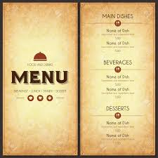 catchy collections of how to design a restaurant menu catchy