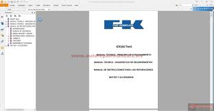 service manual fiat kobelco ex355 tier2 in spanish auto repair