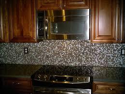 Rock Backsplash Kitchen by Kitchen Stone Backsplash Kitchen 4x4 Tumbled Stone Tile Peel And
