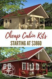 Lake Cabin Kits Cheap Cabin Kits Starting At 3860