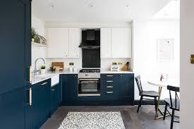 matte navy blue kitchen cabinets blue and gold kitchen ideas photos houzz