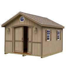 10x20 Garage Best Barns Wood Sheds Sheds The Home Depot