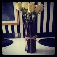 Vase With Twigs Diy Rustic Vase I Literally Diy