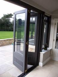 Folding Exterior French Doors - 10 diy awesome and interesting ideas for great gardens 6 doors