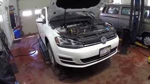 2015 golf mk7 15 000km service youtube