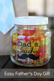 dad u0027s stache treat jar