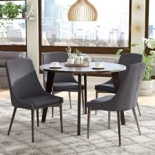 contemporary dining room sets modern wood dining room sets allmodern