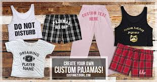 snuggle up in custom pajamas customizedgirl