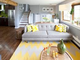 stylish grey and yellow living room decor ideas living room ercol
