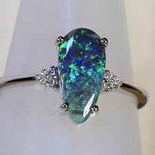 black opal engagement rings black opal engagement ring best price and review 2017