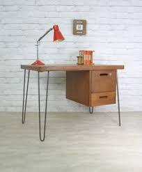industrial hairpin leg desk hairpin leg vintage desk home garden for the home pinterest