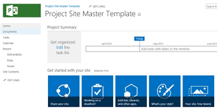 techtips creating your master site template for project server