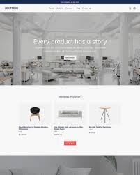 Interior Decoration Site Furniture U0026 Interior Design Ecommerce Website Templates Free And
