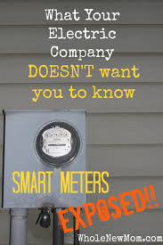 smart meter dangers are smart meters safe whole new mom