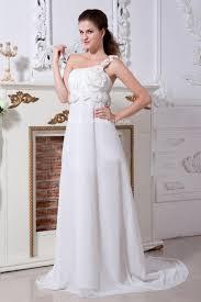 robe de mari e simple pas cher simple robe de mariée enceinte pas chère empire une bretelle