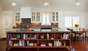 cottage style kitchen island decorating with books trendy ideas creative displays inspirations