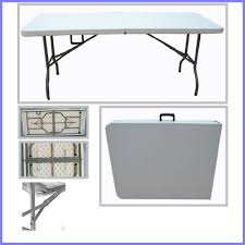 tjns 6ft plastic folding table 4 banquet camping utility amazon