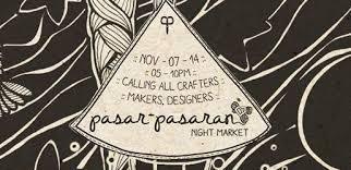 pasar pasaran night market at hubud in bali little steps