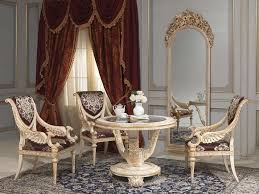 Round Chairs For Living Room by Living Room Louis Xvi Style Vimercati Classic Furniture