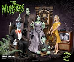 the munsters halloween costumes the munsters grandpa munster deluxe maquette by tweeterhead
