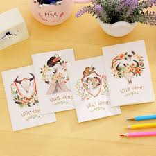 writing stationery paper popular leaf writing paper buy cheap leaf writing paper lots from 4pcs set new style notepad cartoon sketch graffiti diary blank writing paper memo pads school