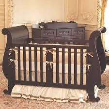 Sleigh Bed Cribs Bratt Decor Chelsea Sleigh Crib In Espresso Baby Boy Nurseries