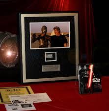 George Lucas Signed Star Wars Prop Death Star Coa London Prop