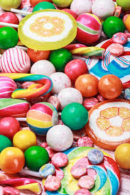 easter egg gum multi colored lollipop and chewing gum stock photo image of