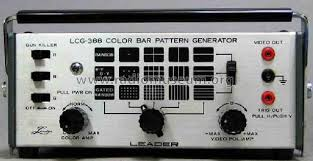 color pattern generator color bar pattern generator lcg 388 equipment leader electro