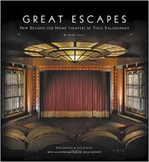 Books For Home Design Amazon Com Great Escapes New Designs For Home Theaters By Theo