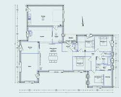 plan de maison 120m2 4 chambres plan maison 40m2 fresh plan maison 120m2 4 chambres 9 plain