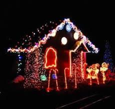 christmas lights train ride la events holiday lights train ride
