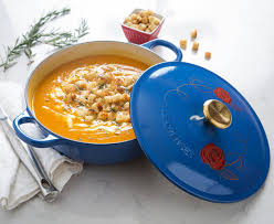 le creuset beauty and the beast le creuset has two beauty and the beast cast iron soup pots