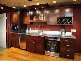 Kitchen Cabinet Vinyl Basement Fair Man Cave Basement Kitchen Decoration With Mahogany