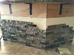 stone kitchen islands stone kitchen island beautiful before and after diy kitchen island