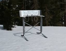 Snowboard Bench Legs Perpetual Products Ski Benches Snowboard Benches Slider Racks