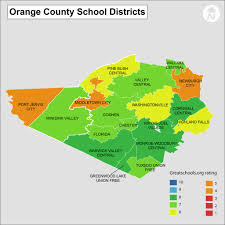 Map Of Florida Cities And Counties by Orange County Ny Districts Information And